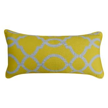SELSEY Poduszka dekoracyjna Pativelar 30x62 cm zółta