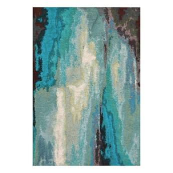 SELSEY Dywan łatwoczyszczący Froome morski 160x230 cm