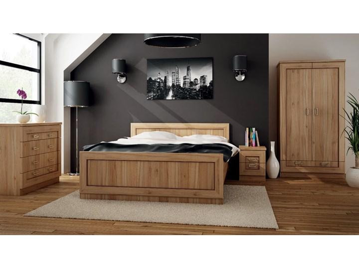 SELSEY Łóżko Tymbaroth 160x200 cm Kategoria Łóżka do sypialni Styl Nowoczesny