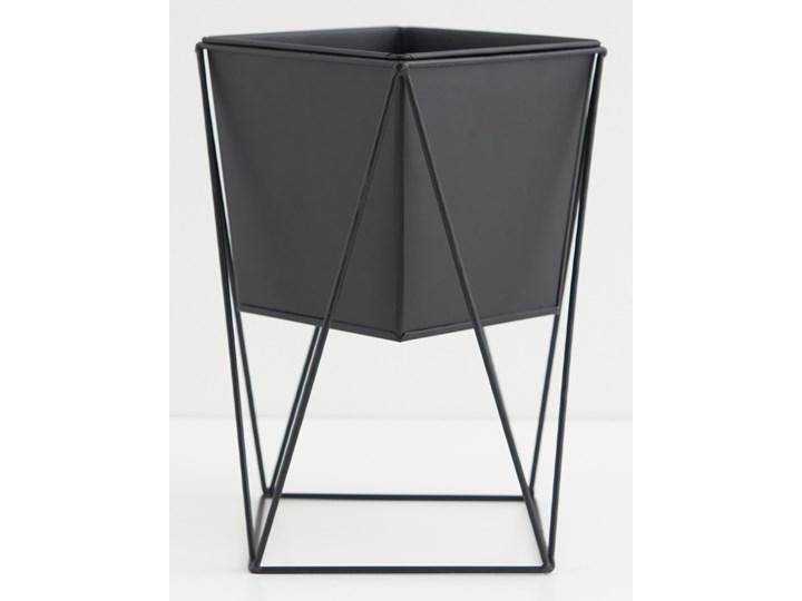 Sinsay - Doniczka na stojaku 15x15 - Czarny