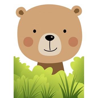 Tapety Ecowalls DZIECIĘCE Słodkie obrazki Pan Niedźwiedź