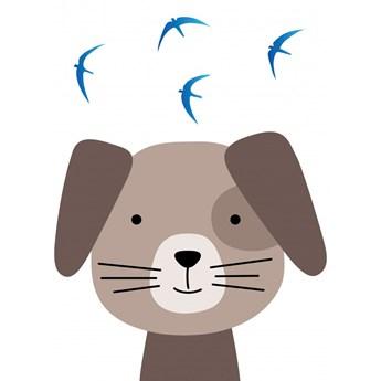 Tapety Ecowalls DZIECIĘCE Słodkie obrazki Pies