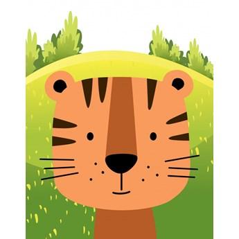 Tapety Ecowalls DZIECIĘCE Słodkie obrazki Tygrysek