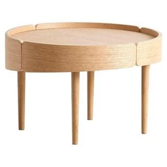 Dębowy stolik kawowy Skirt