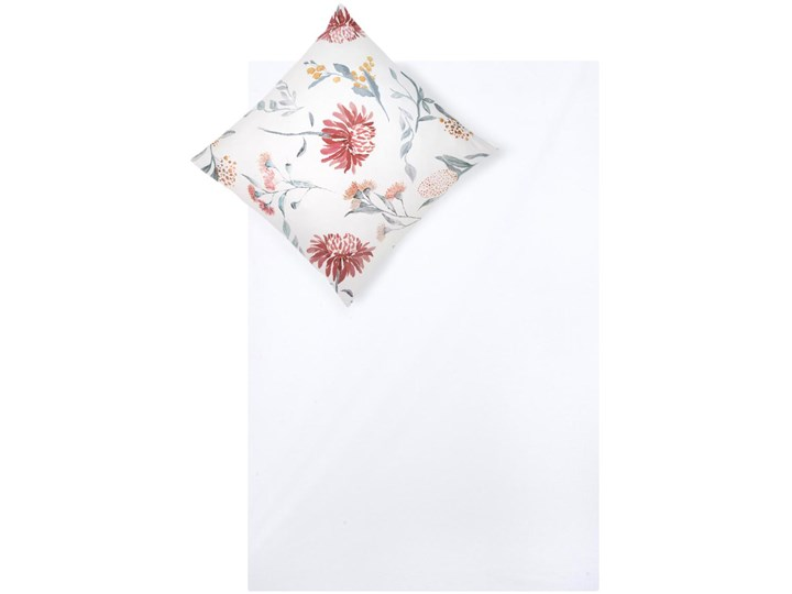 Pościel z satyny bawełnianej Evie Komplet pościeli Bawełna Satyna 135x200 cm Wzór Kwiaty