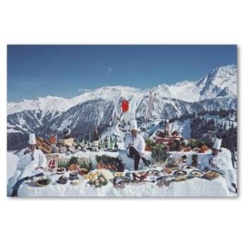Fototapeta na szkle akrylowym  Mountain Buffet