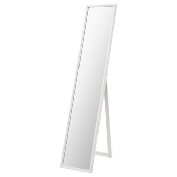 IKEA FLAKNAN Lustro stojące, biały, 30x150 cm