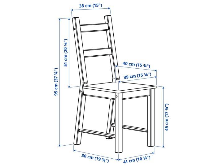 IKEA INGO / IVAR Stół i 4 krzesła, sosna, 120 cm Kategoria Stoły z krzesłami