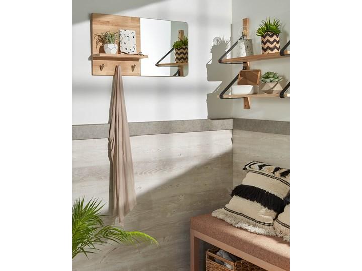 Poszewka na poduszkę Fosse 45x45 cm biało-czarna Poszewka dekoracyjna Kwadratowe Pomieszczenie Sypialnia Kolor Beżowy