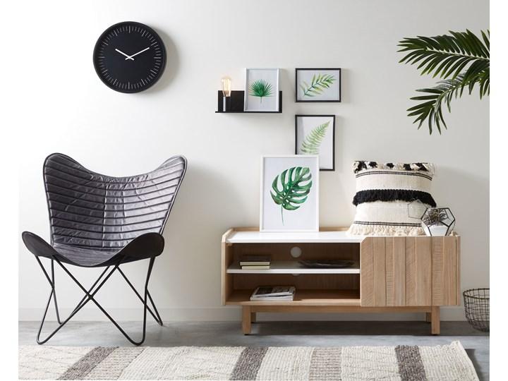 Poszewka na poduszkę Fosse 45x45 cm biało-czarna Pomieszczenie Sypialnia Poszewka dekoracyjna Kwadratowe Kolor Biały