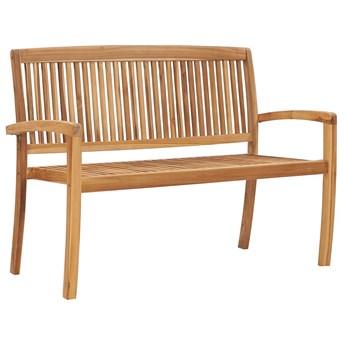 Drewniana ławka ogrodowa - Patton 2X