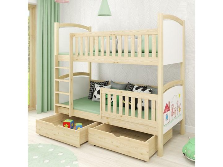 Łóżko piętrowe CZAREK wiele rozmiarów i kolorów Kategoria Łóżka dla dzieci Kolor Biały