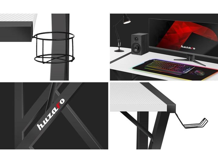 Biurko Gamingowe Huzaro Hero 6.3 White Szerokość 154 cm Biurko narożne Pomieszczenie Pokój nastolatka Stal Głębokość 117 cm Kategoria Biurka