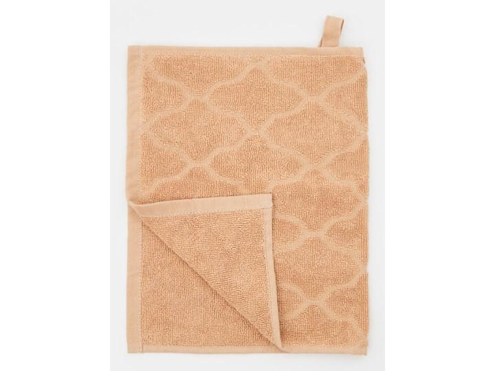 Sinsay - Ręcznik bawełniany - Beżowy Bawełna 30x50 cm Kategoria Ręczniki