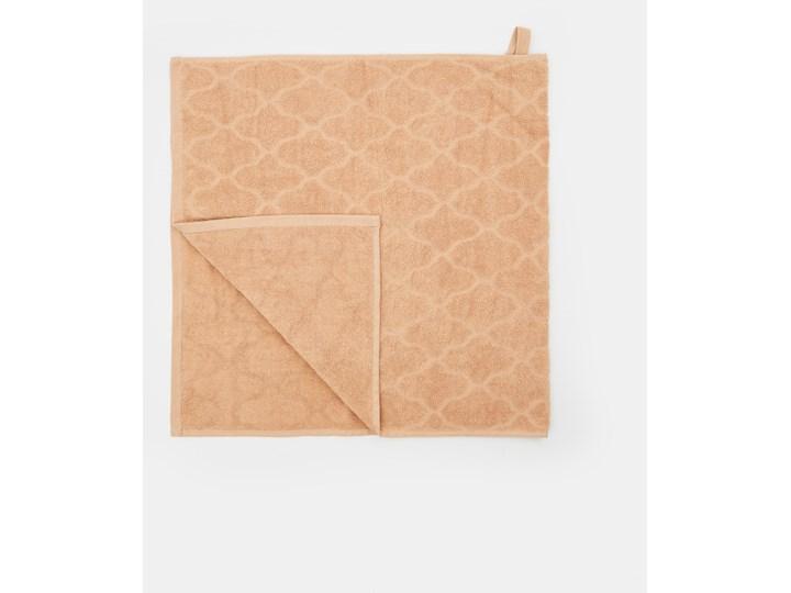 Sinsay - Ręcznik bawełniany - Beżowy Bawełna 50x100 cm Kategoria Ręczniki