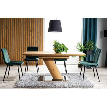 Krzesło IRYS VELVET zielone SIGNAL