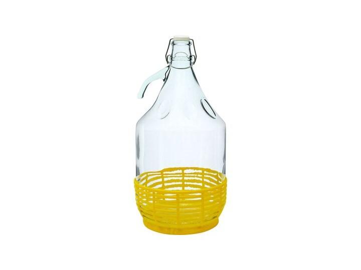 Gąsior Dama 5 l z koszykiem plastikowym i zamknięciem mechanicznym Browin Tworzywo sztuczne Kategoria Pojemniki i puszki Kolor Żółty