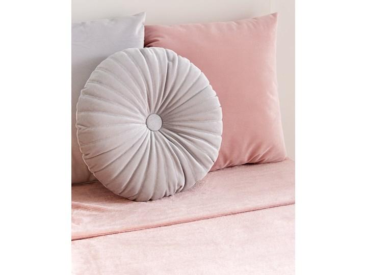 Sinsay - Poduszka dekoracyjna - Jasny szary Kolor Beżowy Okrągłe Kategoria Poduszki i poszewki dekoracyjne