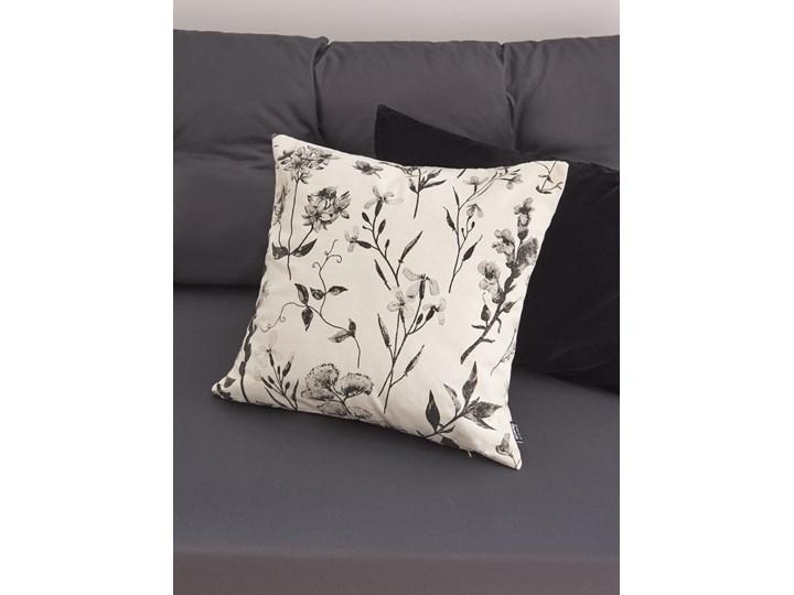 Sinsay - Poszewka na poduszkę - Biały Kwadratowe Poszewka dekoracyjna 45x45 cm Kategoria Poduszki i poszewki dekoracyjne Kolor Zielony