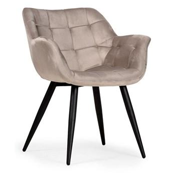 Krzesło tapicerowane KLER beżowe