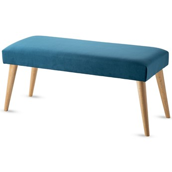 Ławka tapicerowana Retrovidens Turquoise