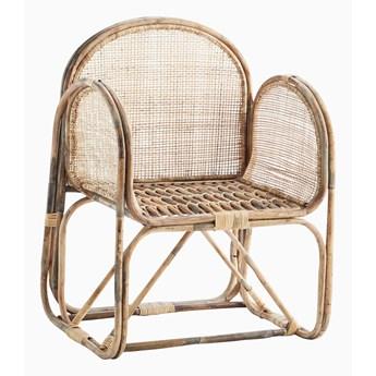 Fotel Bambusowy z siatką
