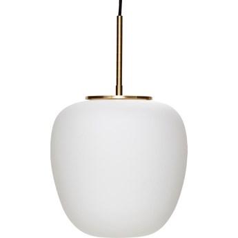 Lampa wisząca Turba Ø30x28 cm biała