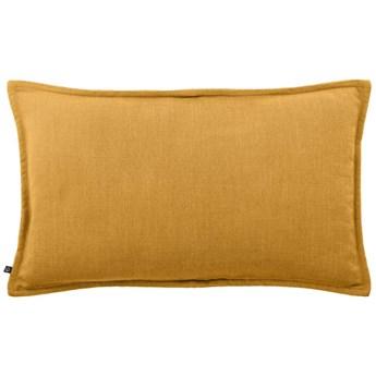 Poszewka na poduszke Blok 30 x 50 cm w kolorze musztardowym