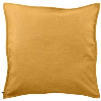 Poszewka na poduszke Blok 60 x 60 cm w kolorze musztardowym
