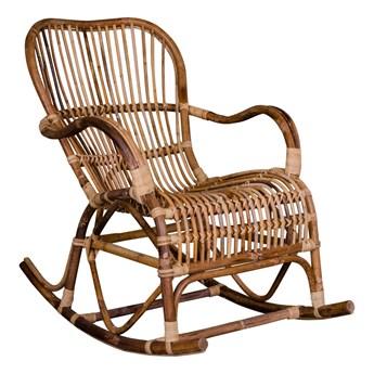 SELSEY Krzesło bujane rattanowe Behuti