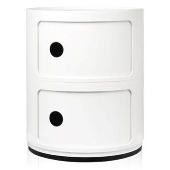 Szafka modułowa dwudrzwiowa Componibili, biały, Kartell