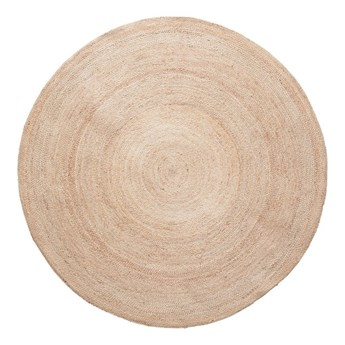 Okrągły dywan z juty Hübsch