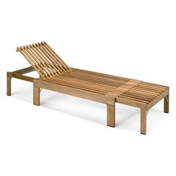 leżanka z drewna tekowego Riviera Skagerak