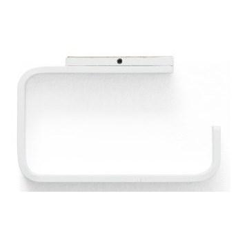 Biały uchwyt na papier toaletowy Norm Menu