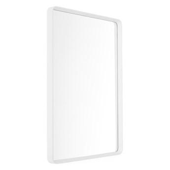 Lustro ścienne w białej ramie 50x70 Norm Rectangular Menu