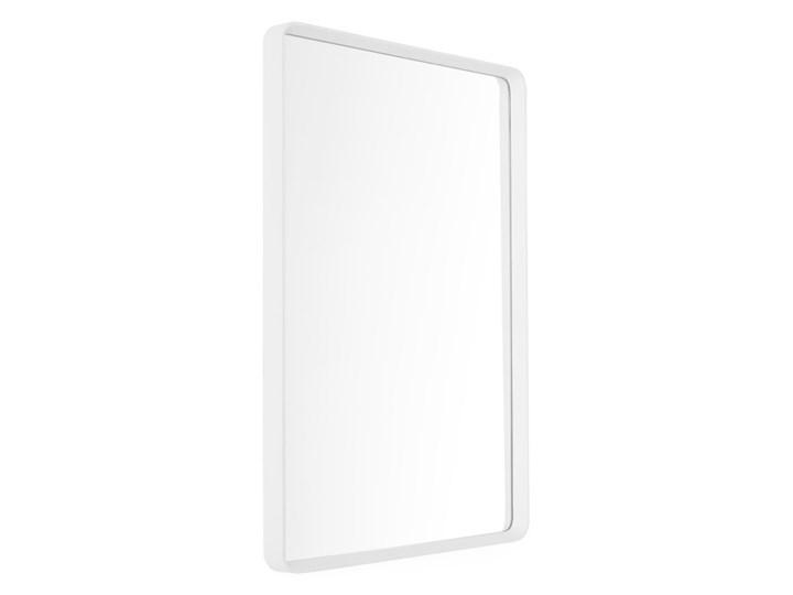 Lustro ścienne w białej ramie 50x70 Norm Rectangular Menu Kolor Biały