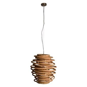 rattanowa lampa wisząca Kubu, Dutchbone