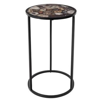 metalowy stolik pomocniczy Agate, Dutchbone