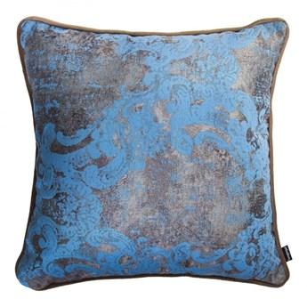 Poduszka Gold, błękitno-beżowa 40x40 cm, Poduszkowcy