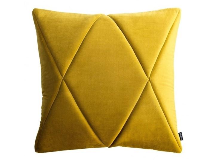 Poduszka Touch, złota 45x45 cm, Poduszkowcy Kwadratowe Poduszka dekoracyjna Poszewka dekoracyjna Pomieszczenie Salon