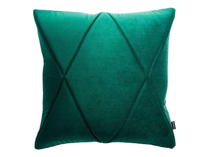 Poduszka Touch, zielona 45x45 cm, Poduszkowcy Kolor Zielony Kwadratowe Poduszka dekoracyjna Poszewka dekoracyjna Pomieszczenie Sypialnia