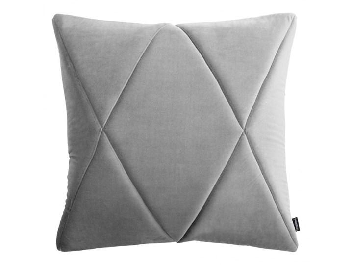 Poduszka Touch, szara 45x45 cm, Poduszkowcy Poszewka dekoracyjna Kwadratowe Poduszka dekoracyjna Pomieszczenie Pokój nastolatka