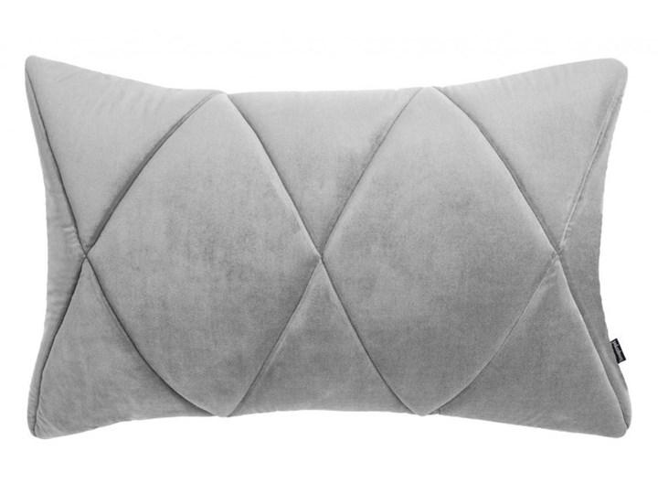 Poduszka Touch, szara 60x40 cm, Poduszkowcy Prostokątne 40x60 cm Poszewka dekoracyjna Poduszka dekoracyjna Pomieszczenie Sypialnia