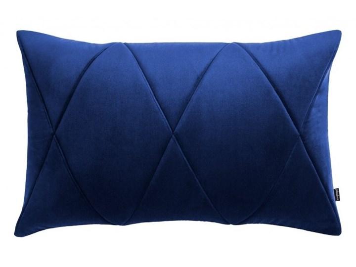 Poduszka Touch, granatowa 60x40 cm, Poduszkowcy Poszewka dekoracyjna 40x60 cm Prostokątne Poduszka dekoracyjna Pomieszczenie Pokój nastolatka