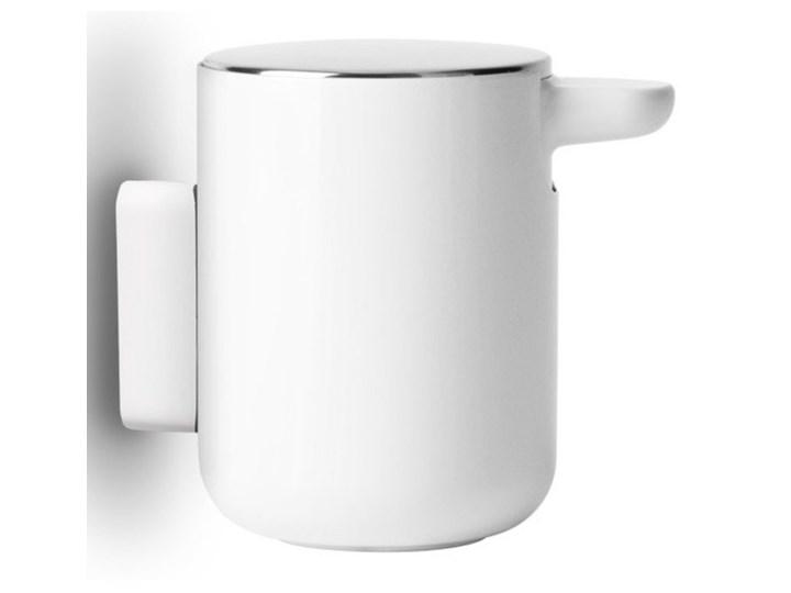 Ścienny dozownik do mydła Norm Bath, biały, MENU Dozowniki Tworzywo sztuczne Stal Kategoria Mydelniczki i dozowniki