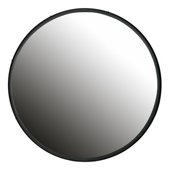 Postarzane okrągłe lustro Lauren, Ø 80 cm, Woood