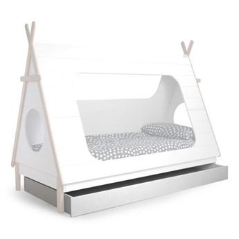 szuflada do łóżka Tipi, biała, Woood