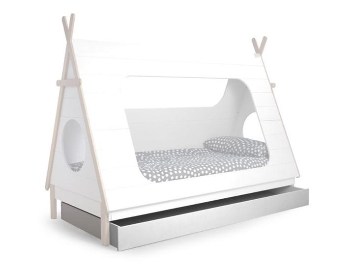 szuflada do łóżka Tipi, biała, Woood Kolor Biały Drewno Kategoria Łóżka dla dzieci