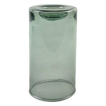 szklany świecznik Valencia, zielony L, OOhhx