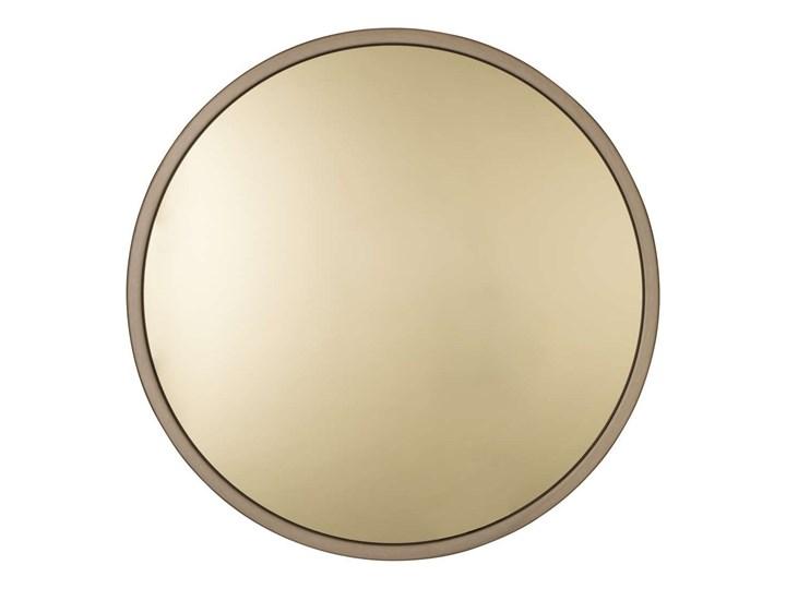 złote lustro w stalowej ramie Bandit, Ø60 cm, Zuiver Ścienne Okrągłe Styl Nowoczesny